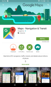 Install Maps