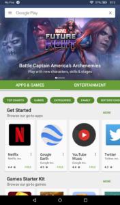 Run Google Play Store